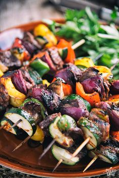When the weather gets warmer, we head outdoors for cooking. When you do, try making these simple Mexican steak skewers.