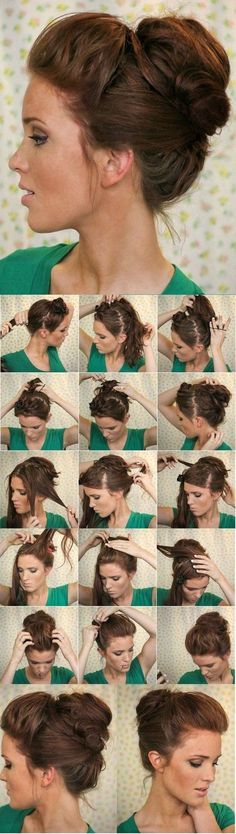 Short Hair Hairstyles - Peinados Cabello Corto Más