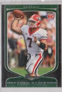 2009 Bowman Draft #111 Matthew Stafford RC$3.00 Free Shipping