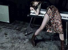 Vogue Russia December 2013 Model: Marie Piovesan