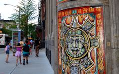 Turning the East Village into a puzzle of art and exploration.