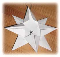 Skapligt+Enkelt:+Vik+en+julstjärna