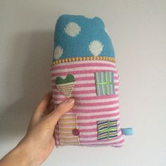 New knitted houses
