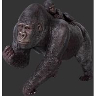Gorilla Statue with Baby use code 'cindy' for discount on these items lmtreasures.com for more great items code cindy for all discounts see my other pins for great cool items