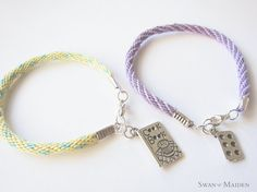 Great gift idea for Pastry lover! Yellow Turquoise, Pastel Yellow, Christmas Jewelry, Friendship Bracelets, Turquoise Bracelet, Great Gifts, Take That, Things To Come, Charmed