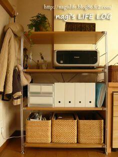 無印プラスαでPC周りを大改造その2・家具は揃ったけれど nagi's LIFE LOG