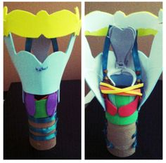 Model of the larynx