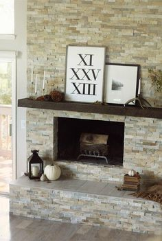 Fantastic Photographs Stone Fireplace diy Ideas Great Photo ledger Stone Fireplace Thoughts Stacked stone fireplaces are undenia…, Good Living Room Colors, Living Room White, Living Room Tv, Living Room With Fireplace, Dining Room, Ledger Stone Fireplace, Stacked Stone Fireplaces, Floating Fireplace, Fireplace Hearth