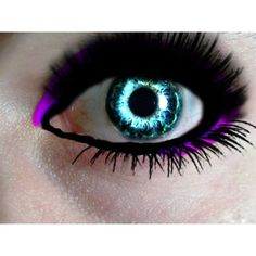 Colored eye contacts ❤ liked on Polyvore featuring beauty products, makeup and eye makeup