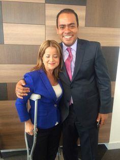 Alcaldesa de Barranquilla y alcalde de Plato Magdalena