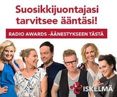 Vaihtuvia kilpailuja.  http://www.iskelma.fi/kilpailut/