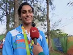 Olympics Medal Is My Biggest Dream That Has Come True: PV Sindhu http://www.ndtv.com/video/sports/news/olympics-medal-is-my-biggest-dream-that-has-come-true-pv-sindhu-428060