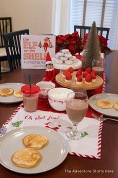 Healthy Christmas Morning Breakfast (Gluten Free, *Paleo) - Little Bites of Beauty Magical Christmas, Christmas Elf, Christmas Treats, Xmas, Christmas Breakfast, Christmas Morning, Christmas Activities, Christmas Traditions, Elf Auf Dem Regal