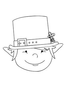 151 Best leprechaun coloring pages images in 2017