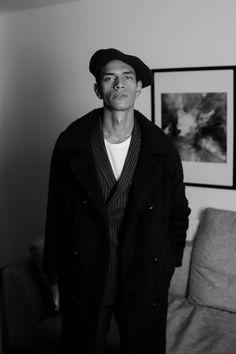 Parisian Vibes Tailoring Shoot Photographer: Thomas Morgan Model: Raith Clarke Agency: Supa Model Management Wearing: Mossbros #Fashion #Editorial #Blackandwhite #Menswear #SS18 #Tailoring #Suit #Model