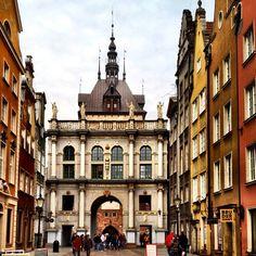 The Golden Gate in Gdańsk - @kyokomai- #webstagram