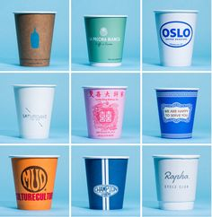 A look at a small fraction of the disposable coffee cups in New York.