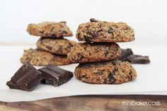 Post image for Chocolate Cranberry Cookies {Gluten-Free, Dairy-Free, Paleo}