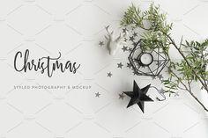 Christmas Styled Photo&Mockup #02 by Giadaland on @creativemarket