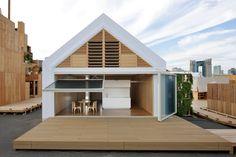 LIXIL×坂茂「凝縮と開放の家」