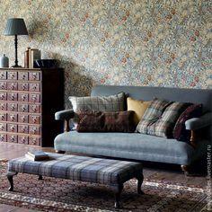 Купить Английская портьерная ткань William Morris Golden Lily - портьерная ткань, интерьерная ткань