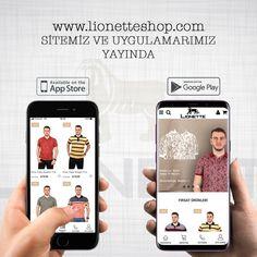 www.lionetteshop.com sitemiz ve mobil uygulamalarımız yayında.  #erkekgiyim #mensfashion #menswear #polotshirt #poloyakatshirt #tshirt #ringeltshirt #turkey #istanbul Polo Tshirt, App Store Google Play, Istanbul, Competition, Menswear, My Love, Instagram Posts, Rings, My Boo