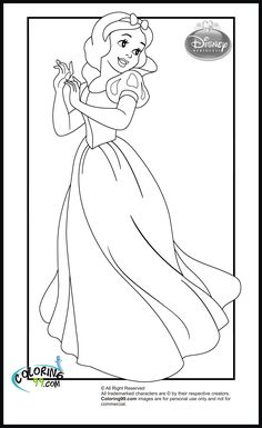 disney princess coloring pages 03