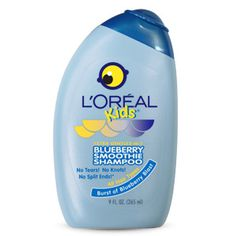 L'Oréal Kids Blueberry Smoothie 2-in-1 Shampoo for All Hair Types