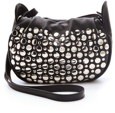 SONIA RYKIEL Black Domino Studded Mini Bag - Lyst Shopper Tote 3c25f82e5c969