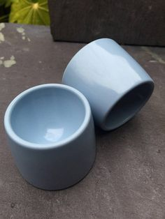 Your place to buy and sell all things handmade Vintage Egg Cups, 1960s, I Shop, Eggs, Cleaning, Breakfast, Blue, Morning Coffee, Sixties Fashion