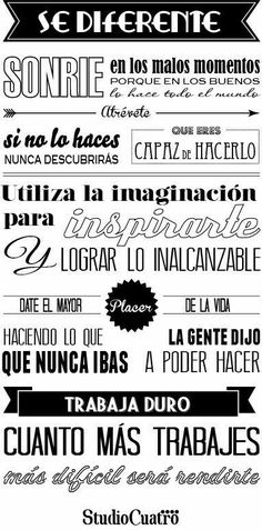 Motivational Phrases, Inspirational Quotes, Mr Wonderful, Spanish Quotes, Continue Reading, Wise Words, Lettering, Thoughts, Writing
