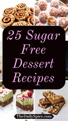 Sugar Free Deserts, Sugar Free Sweets, Sugar Free Cookies, Healthy Sweets, Healthy Dessert Recipes, Diabetic Recipes, Delicious Desserts, Fun Baking Recipes, Sugar Free Recipes
