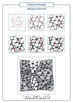 Zentangle Drawings, Doodles Zentangles, Doodle Drawings, Easy Zentangle Patterns, Zen Doodle Patterns, Tangle Doodle, Tangle Art, Op Art Lessons, Zen Art