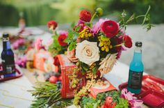 A Throwback Lobster Boil  Read more - http://www.stylemepretty.com/living/2013/09/27/a-throwback-lobster-boil/