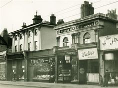Photo:Where were these 1950s shops?