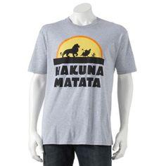 "Disney The Lion King ""Hakuna Matata"" Tee - Men $12.99 or 2 / $20.00"