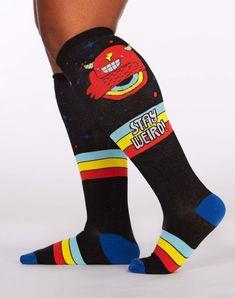 Mens Womens Funny Sky Thunder Storm Rain Lightning Long Sock Athletic Calf High Crew Soccer Socks Sports 50cm