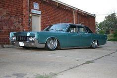 custom 1967 lincoln continental
