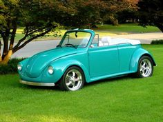 Custom VW Super Beetle Interior | Don N's '75 Custom VW Bug Convertible