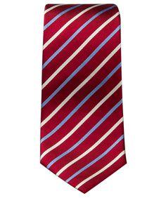 Krawatte rot gestreift im Daniels & Korff Shop