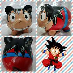 Goku Shrek, Personalized Piggy Bank, Arte Country, Batman, Piggy Banks, Dragon Ball, Pigs, Crafts, Safe Room
