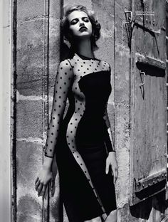 Hailey Clauson: Vogue Russia, August 2011