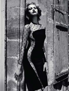 Hailey Clauson: Vogue Russia, August 2011--What a beautiful shot