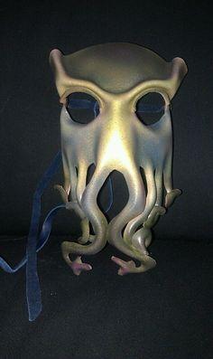 Cthulhu masks by ~ParkersandQuinn on deviantART