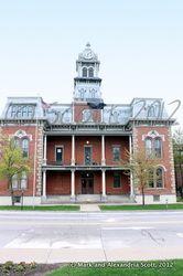 Medina County Courthouse- Medina OH  Image is property of Rediscovering Ohio