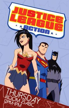 Unofficial 'Justice League Action' art features tweaked versions of Batman, Superman and Wonder Woman from the upcoming animated series. Justice League Task Force, New Justice League, Justice League Unlimited, Trinidad, Superman, Dc Trinity, Super Hero Shirts, San Diego, Batman Wonder Woman