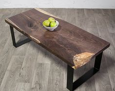 CALVIN Maple COFFEE TABLE Reclaimed Live by ElpisWorks on Etsy