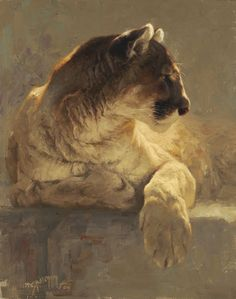 Greg Beecham, Repose. One if my favorite artists. I always feel like I could reach out and sink my hands into the fur.