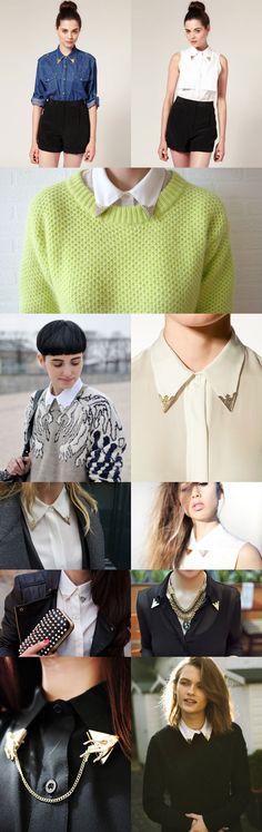 collar tips - Thrifted & Modern Blog
