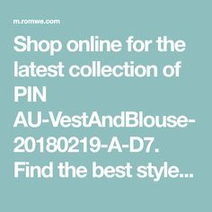 Shop online for the latest collection of PIN Find the best styles and deals at ROMWE right now! Romwe, Cool Style, Fashion Dresses, Good Things, Shopping, Collection, Fashion Show Dresses, Style Fashion, Trendy Dresses